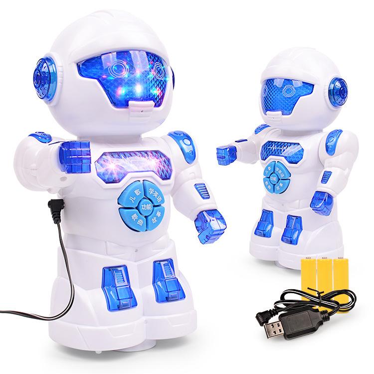 Máy học tập Trẻ em điện sẽ kể chuyện, hát đồ chơi, robot điện phổ quát, giáo dục sớm, máy câu chuyện