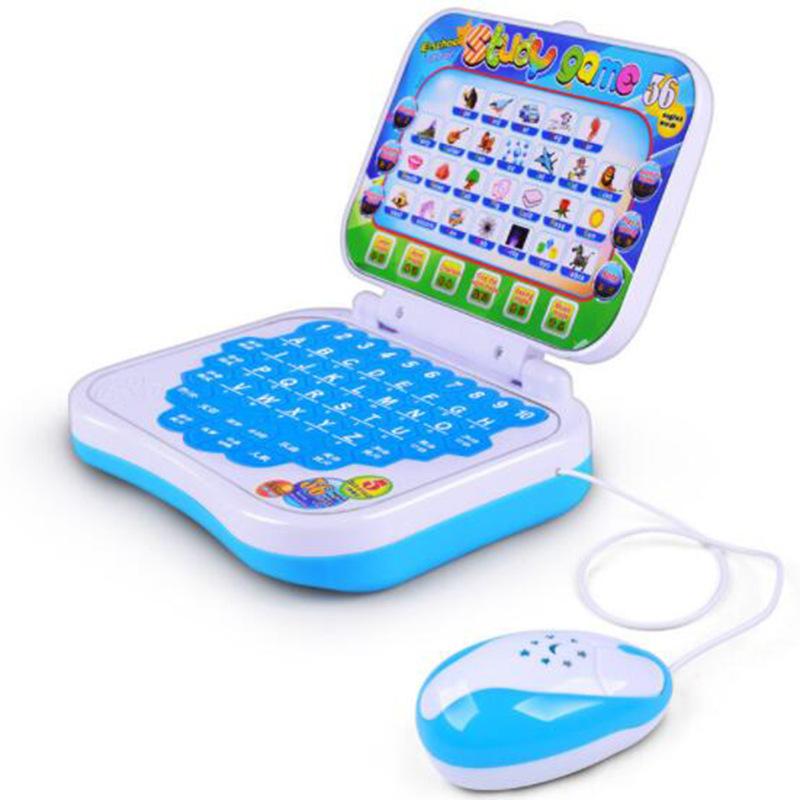 QIMENG Máy học ngoại ngữ Giáo dục mầm non câu đố học máy máy tính Chuột đồ chơi máy tính Trẻ em thôn