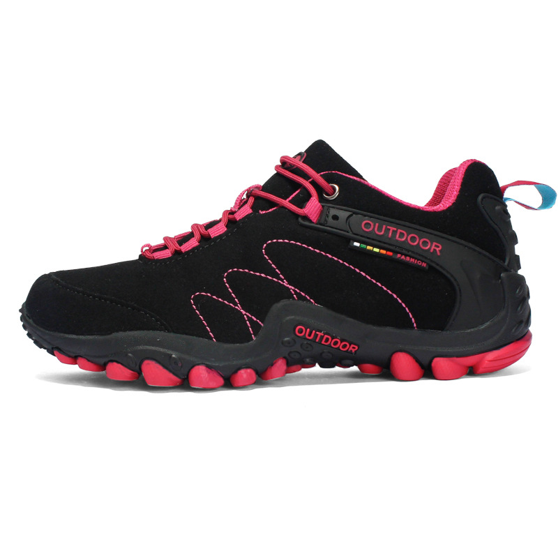 WANYONGDA Giày đi bộ Mùa thu và mùa đông 2016 giày đi bộ đường dài mới đôi giày nam ngoài trời với g