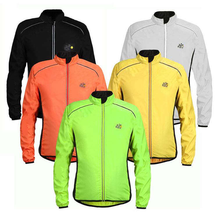 SANBUNO Trang phục xe đạp Xe đạp áo gió xe đạp Jersey Đồng phục áo gió ngoài trời áo khoác thể thao