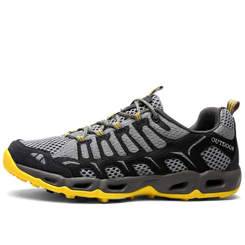 Giày thể thao dã ngoại đi bộ giày lưới vải thoáng khí .