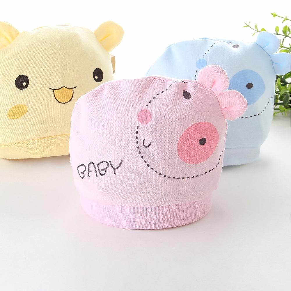 KANGMENGWA Đồ dùng sơ sinh Nhà sản xuất cung cấp sản phẩm cho trẻ em Mũ trẻ em Mũ sơ sinh cho bé Mũ