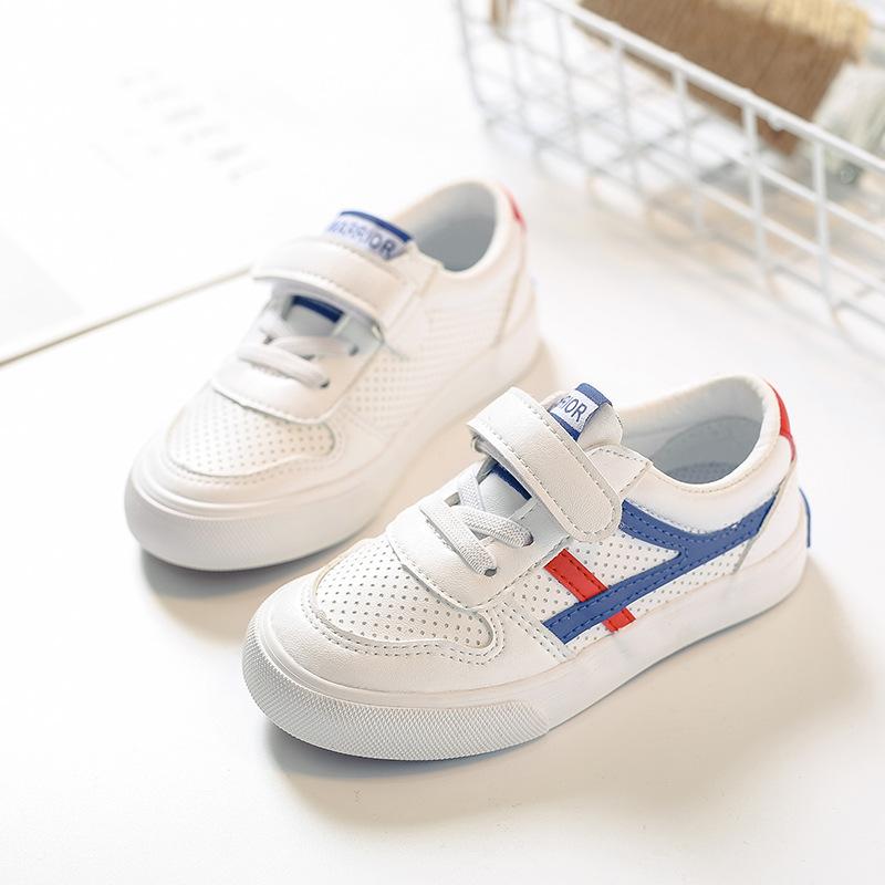 Giày trẻ em Hot Kéo lại giày trẻ em 2018 mùa xuân giày trẻ em mới Giày vải sợi nhỏ một thế hệ tóc nh