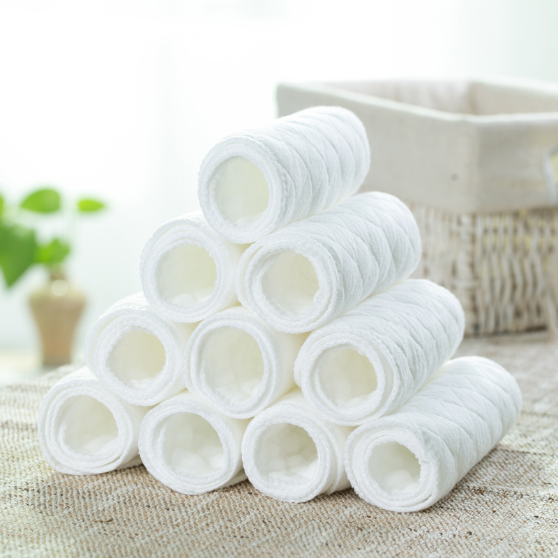 Sunny ju Tả vải Sản phẩm dành cho trẻ em, Ánh nắng mặt trời, ba lớp tã cotton sinh thái màu trắng, t