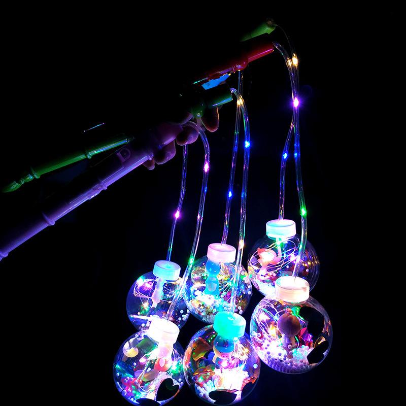 GUFENG Đồ chơi phát sáng Lan truyền tiếng nổ rung, đồ chơi trẻ em sáng ngời, phim hoạt hình, trong s