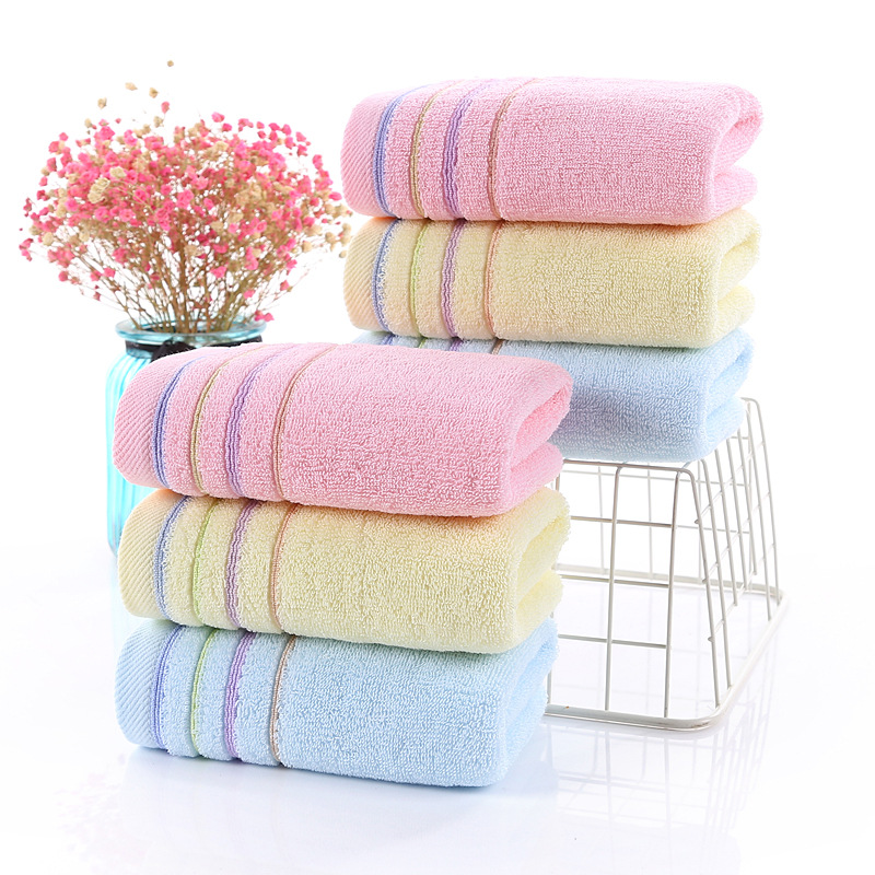 khăn bông đơn giản thấm nước , vải mềm