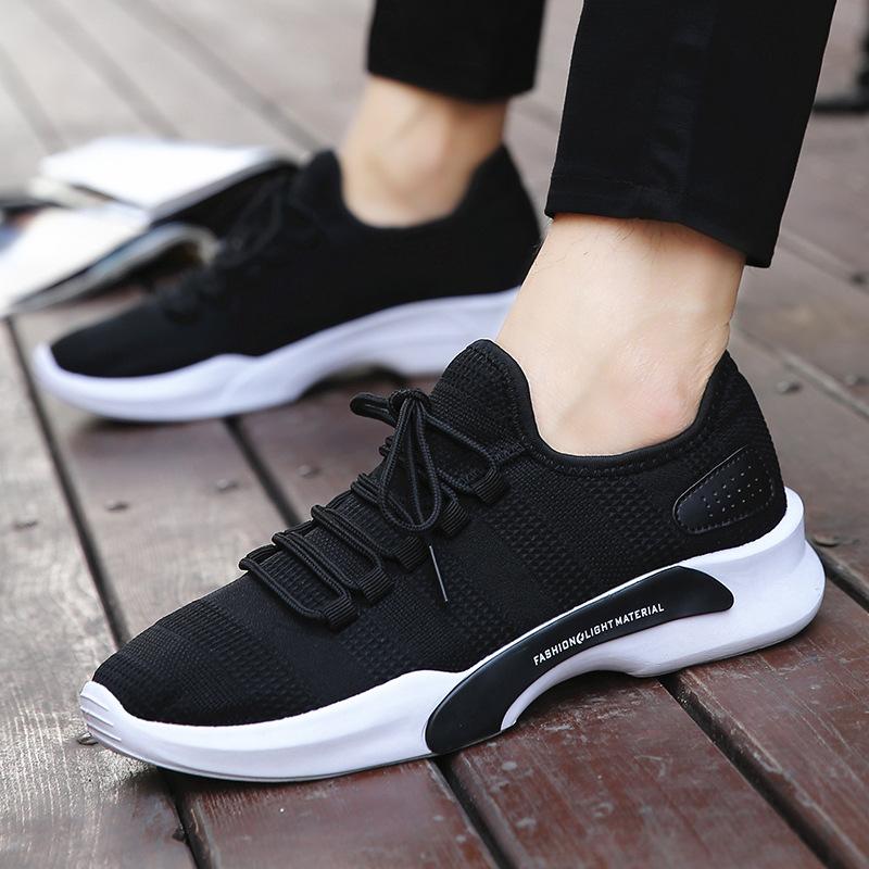 Giày lười / giày mọi đế cao 2018 phiên bản Hàn Quốc mới của xu hướng giày thông thường nam thể thao