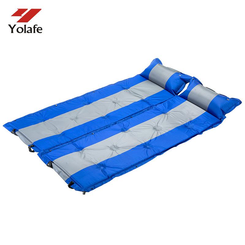 YOULAIFU Đôi khâu tự động đệm bơm hơi mở rộng dày giữ ẩm lều mat ngoài trời sương cắm trại cung cấp