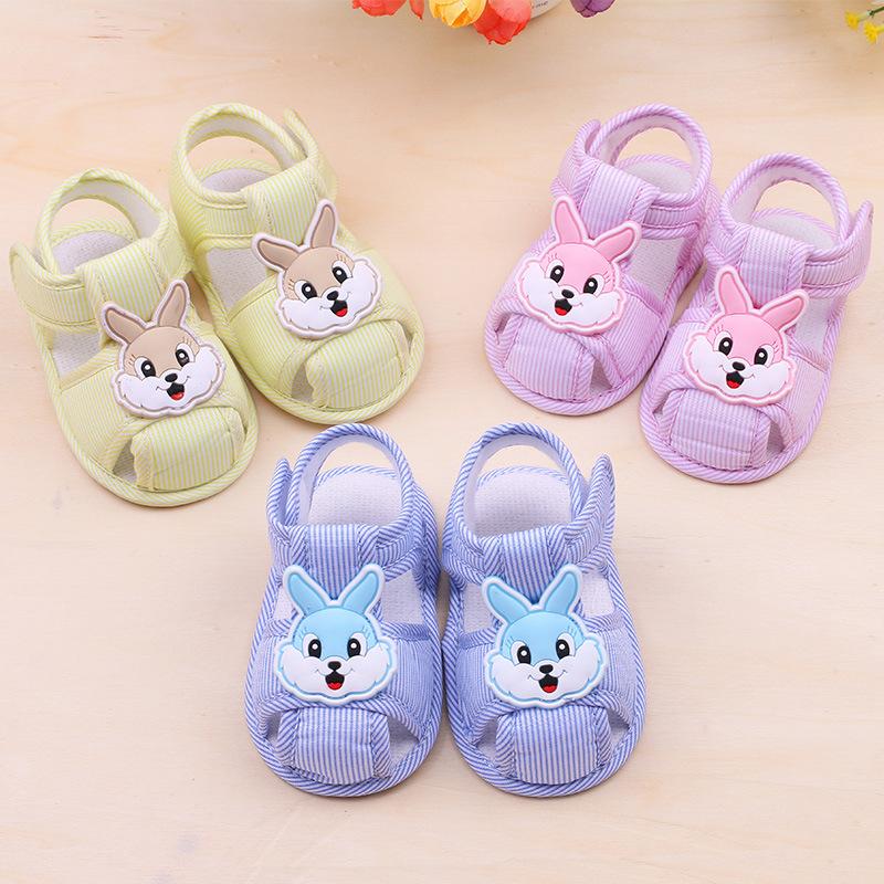 LEYAXIONG Giày trẻ em Hot Giày trẻ em trẻ mới biết đi Giày đế mềm cho bé mùa hè 0-1 tuổi Đàn ông và