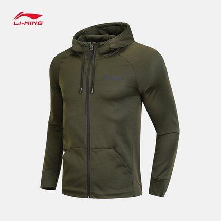 Sweater (Áo nỉ chui đầu)  Li Ning Wei quần áo bóng rổ nam áo khoác cardigan áo khoác trùm đầu áo sơ