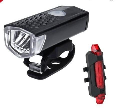 LWEI Đèn pha USB Đèn xe đạp nổi bật Đèn cảnh báo xe đạp leo núi Đèn pha sạc xe đạp