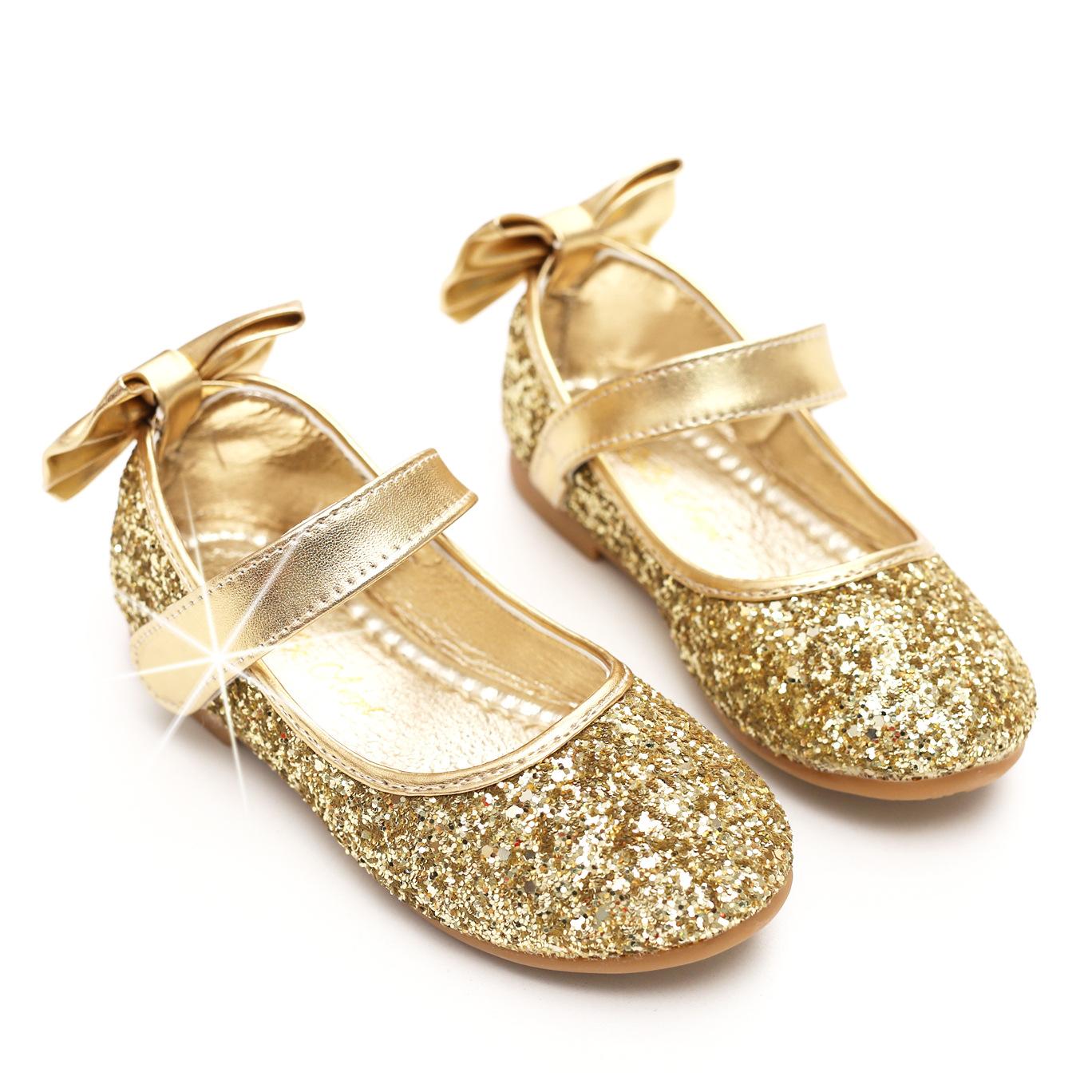 BoBo Angel Giày trẻ em Hot Giày bé gái Dễ thương đa năng tròn phẳng Giày phẳng Giày thoáng khí và th