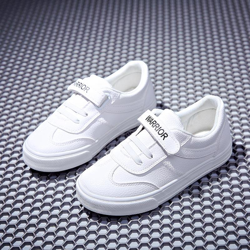 giày vải Mùa xuân 2018 mới kéo trở lại giày trẻ em giày vải bé trai và bé gái giày thể thao ma thuật