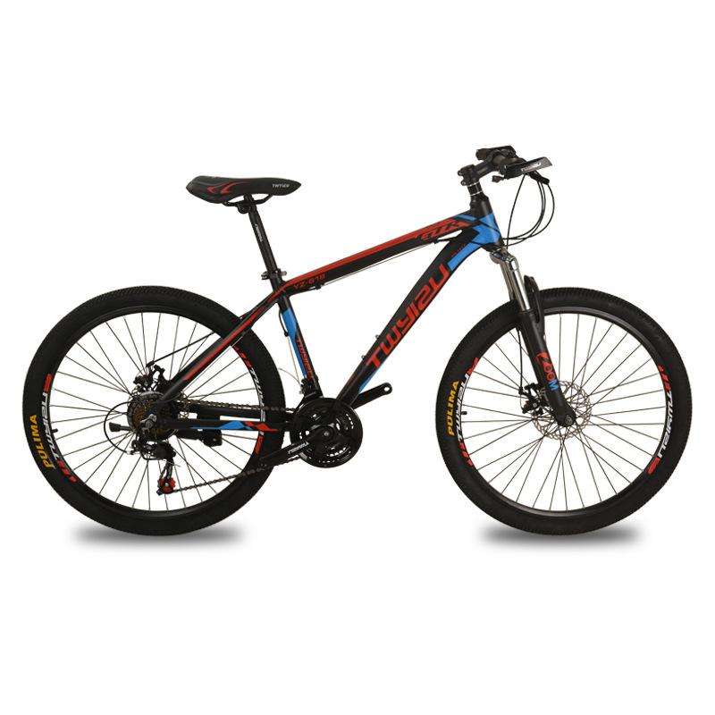 YIZU Nhà máy xe đạp leo núi bán hàng trực tiếp Người lớn mới 24 inch 26 inch giảm xóc 21 tốc độ nhôm