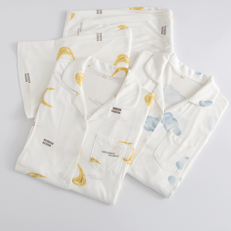 YIHONG Trang phục trong tháng (sau sinh) Modal tháng quần áo mùa xuân và mùa hè mỏng phần sau sinh c