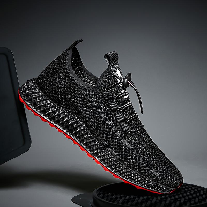 Caseennon Giày lười / giày mọi đế cao Giày nam mùa hè Giày thủy triều Phiên bản Hàn Quốc của xu hướn
