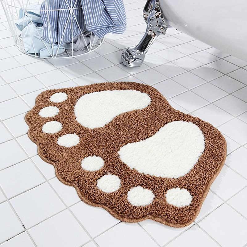 Thảm dậm chân phòng tắm chống trượt .
