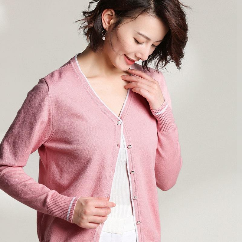 tay dài 2019 quần áo chống nắng mới cho nữ áo khoác ngoài ngắn ngoài áo sơ mi Hàn Quốc phiên bản mỏ