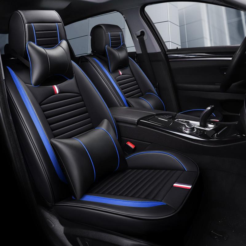 RONGFENG Drap bọc ghế xe hơi Bán buôn TH thể thao toàn bộ đệm ghế da xe Bốn mùa pad thời trang mới đ