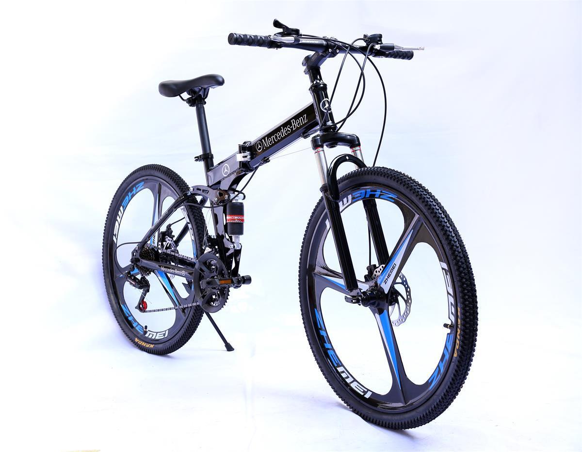 XINLAIKE Xe đạp leo núi Nhà máy trực tiếp gấp xe đạp leo núi đôi đĩa phanh xe đạp leo núi