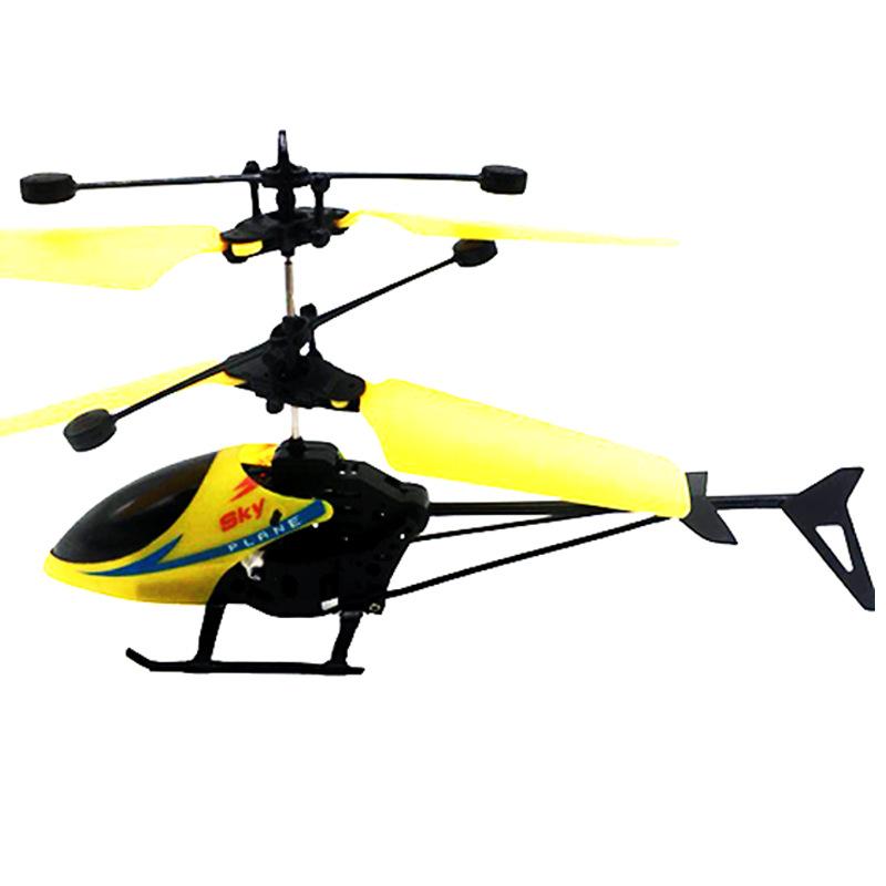 AITONGXUE Máy bay điều khiển từ xa Cảm ứng treo sáng điều khiển từ xa Máy bay trực thăng đồ chơi trẻ