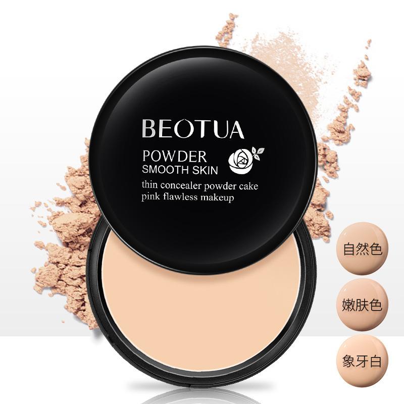 BODIE Mỹ phẩm trang điểm Kem che khuyết điểm rêu bướm Light Skin Beauty Powder Powder Natural Set Ma