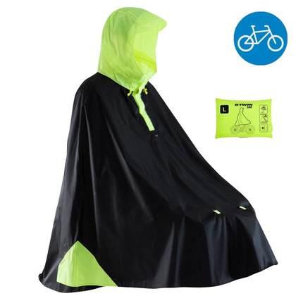 Trang phục xe đạp  Decathlon xe đạp điện xe máy chống mưa và phản xạ an toàn Nam và nữ áo mưa poncho