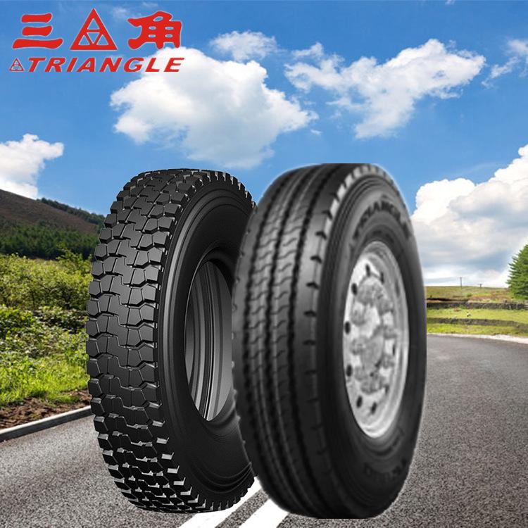 TRIANGLE Cao su(lốp xe tải) Cung cấp lốp xe buýt tam giác TRIANGLE 8R22.5 chân không có thể được xuấ