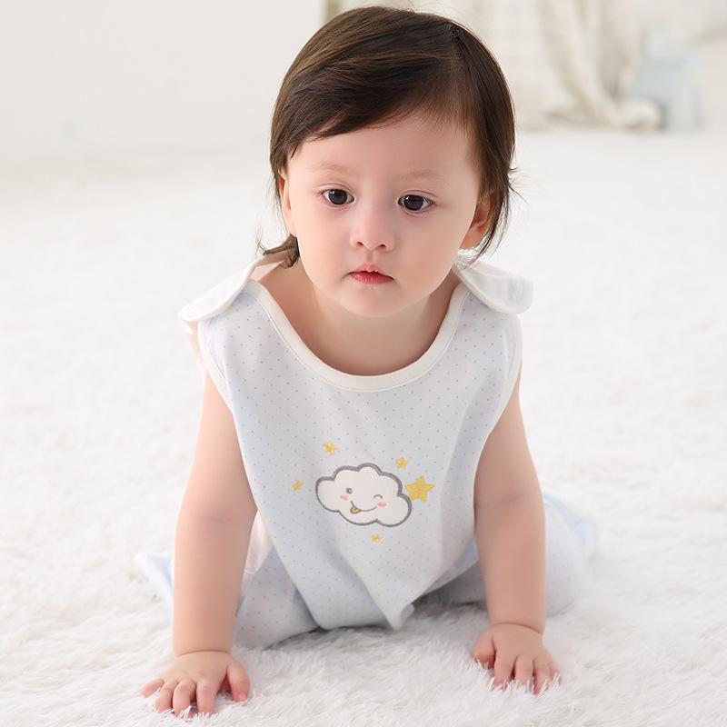 Xiaoyaoyang Túi ngủ trẻ em 2019 trái tim mùa hè mới dễ thương nam nữ túi ngủ em bé cung cấp cho trẻ