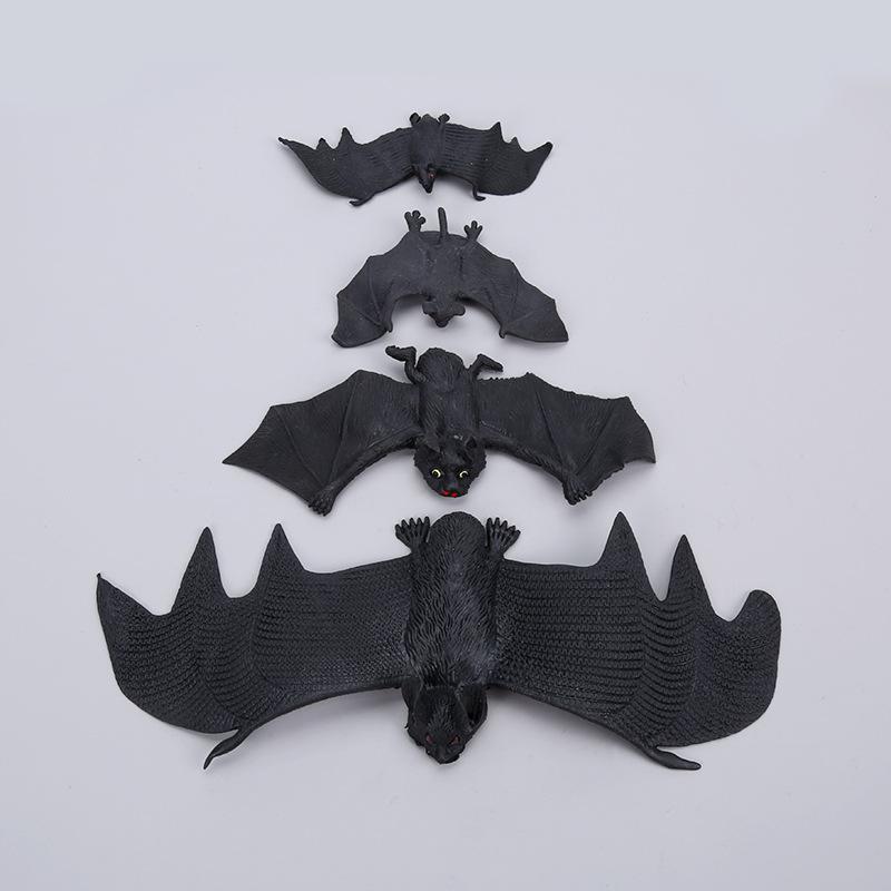 Đồ chơi khăm Halloween ngày Cá tháng Tư trang trí mô phỏng thương mại nước ngoài bat đồ chơi cao su