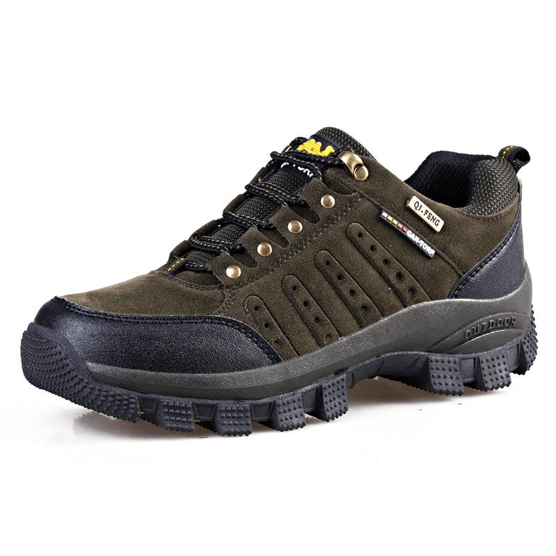 Giày thể thao dã ngoại đế cao dành cho nam .