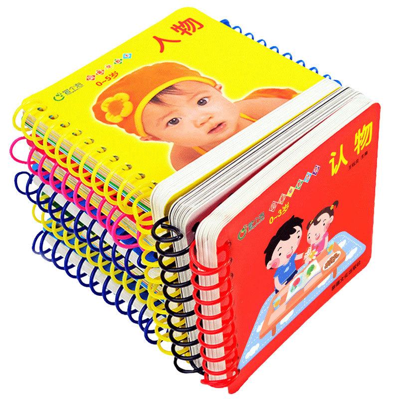 MAOGGEPAO Đồ giảng dạy trẻ sơ sinh Lấy một bong bóng, nước mắt, không thối, giáo dục sớm, thẻ biết c