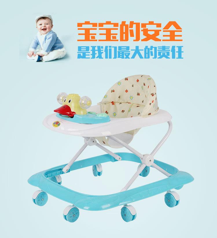YANGSHUO Xe tập đi Nhà máy sản xuất xe tập đi cho bé cổ điển với nhạc đồ chơi Xe tập đi cho bé