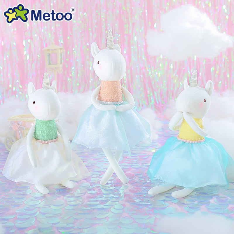 Metoo Đồ chơi Mickey Dream Unicorn Plush Đồ chơi trẻ em Quà tặng cô bé sinh nhật 2019 Đồ chơi