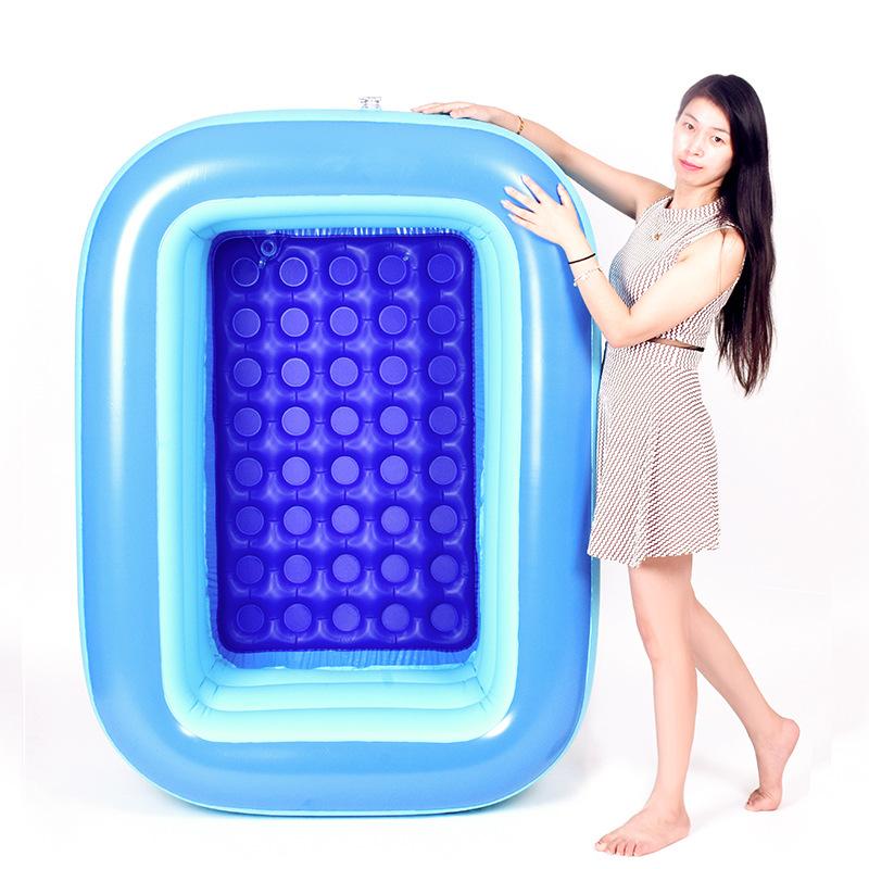 MANDUOLA bể bơi trẻ sơ sinh Nhà máy trực tiếp PVC bơm hơi bể bơi trẻ em mái chèo bể bơi bơm hơi vuôn