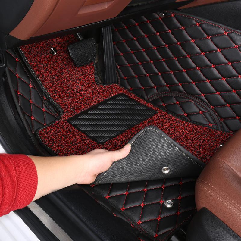 TIAOZHANZHE Thảm xe đặc biệt xuyên biên giới xe đặc biệt tất cả xung quanh vòng tròn dây mats thảm l