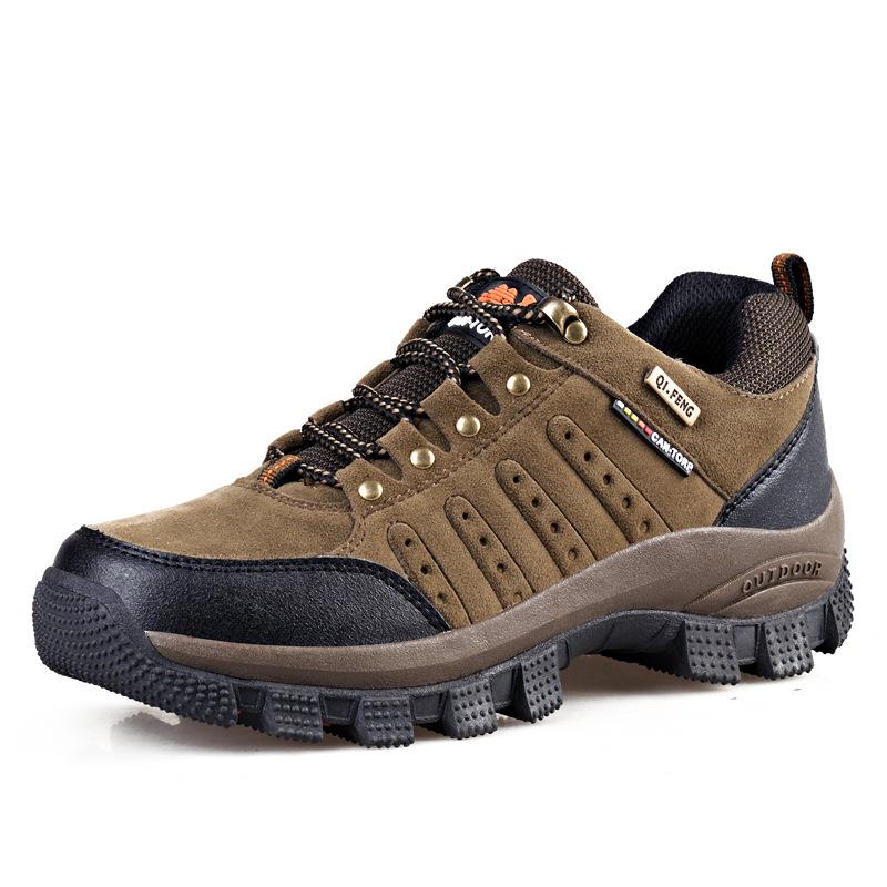 Giày đi bộ 2019 mới mùa xuân và mùa thu mùa đông giày đi bộ đường dài ngoài trời hấp thụ giày đi bộ
