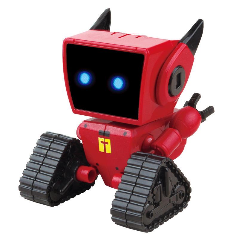 MEIGAOLE Rôbôt / Người máy Gấu được sinh ra là robot COCO nhỏ bằng sắt MEGA đồ chơi âm nhạc không gi