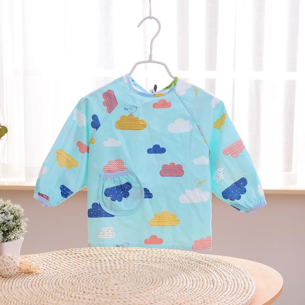 ZHIHUINIAO Áo khoác Ngôi sao nhí Baby Cartoon Cotton Baby Tranh Quần áo Trẻ em Chống thấm nước Áo kh