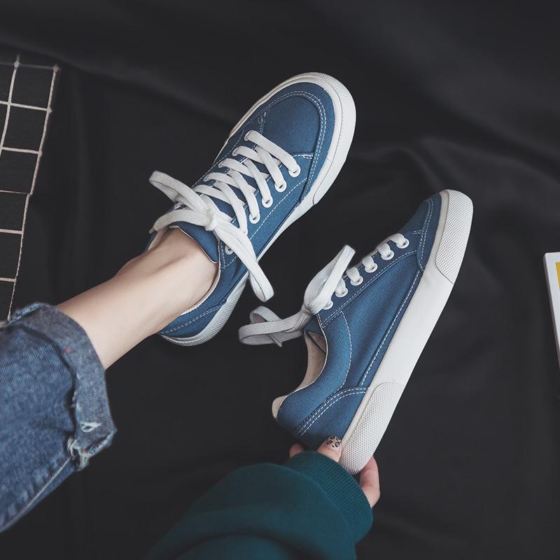 MINGJIANG Giày FuJian Giày vải nổi tiếng mới 2019 giày nữ thời trang giày đế xuồng hoang dã mẫu giày
