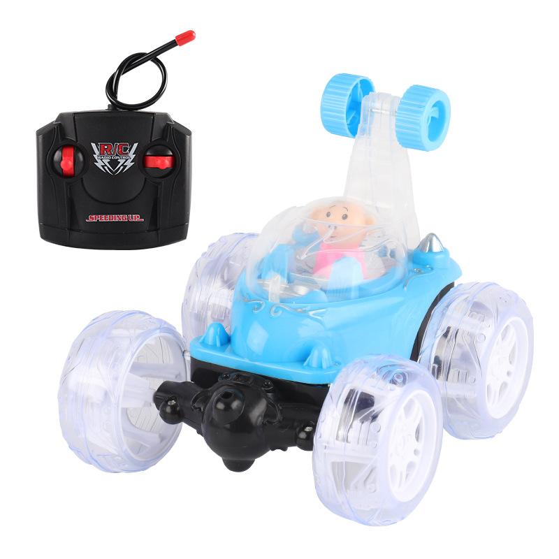 Xe điều khiển từ xa Điều khiển từ xa xe heo nhỏ P xe tải đổ ầm ầm xe ô tô nhạc nhẹ đầy màu sắc với U