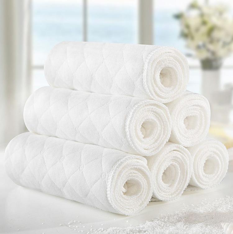 Tả vải Tã bông sinh thái ba lớp Tã cotton sơ sinh cho bé Bông có thể giặt được Mềm và thấm nước
