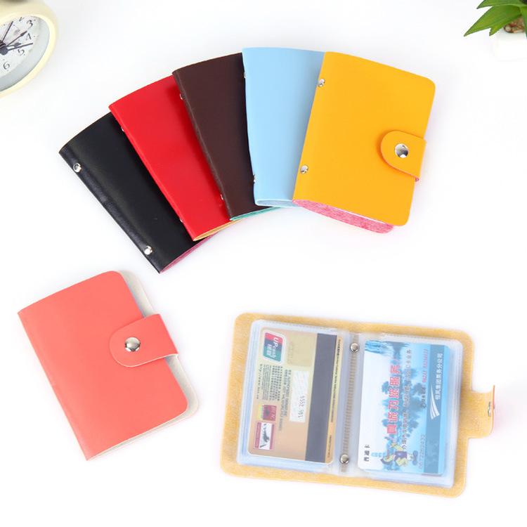 NAHE Ví đựng thẻ Phiên bản tiếng Hàn của gói thẻ thời trang nam đơn giản dành cho chủ thẻ tín dụng T