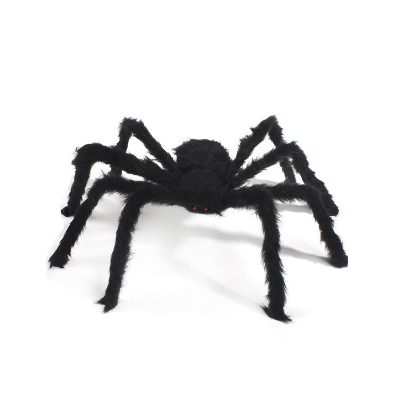 AIXINQI Đồ chơi khăm Halloween Spider Trang trí Ngôi nhà ma ám Mạng nhện Mô phỏng Sang trọng Trang w
