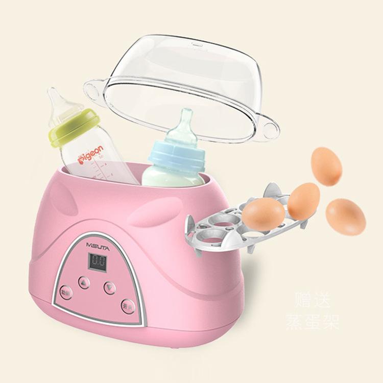 MISUTA Máy giữ ấm sữa Máy hút sữa Misuta ấm hai trong một bình sữa cách nhiệt bình sữa tự động thông
