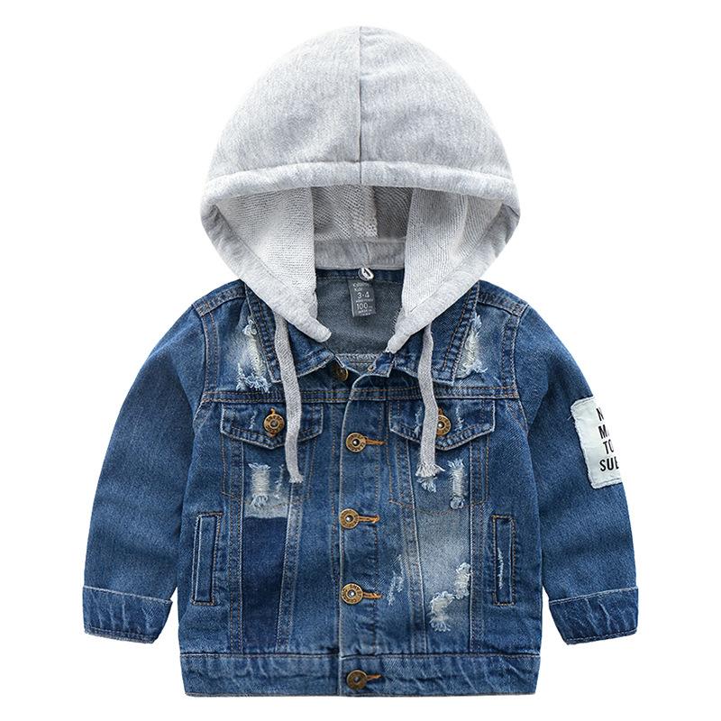 Katoofely Áo khoác trẻ em Mùa thu mới thương mại nước ngoài thương hiệu gốc quần áo trẻ em trai trẻ