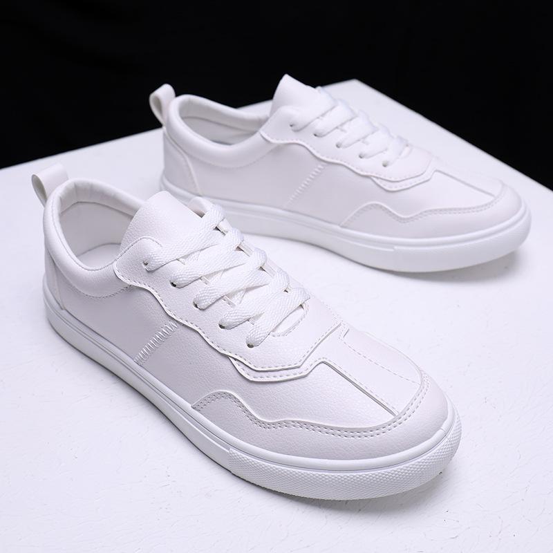 Giày trắng nữ Giày vải nam đế thấp giúp học sinh giày trắng nhỏ Phiên bản Hàn Quốc của giày nghệ thu