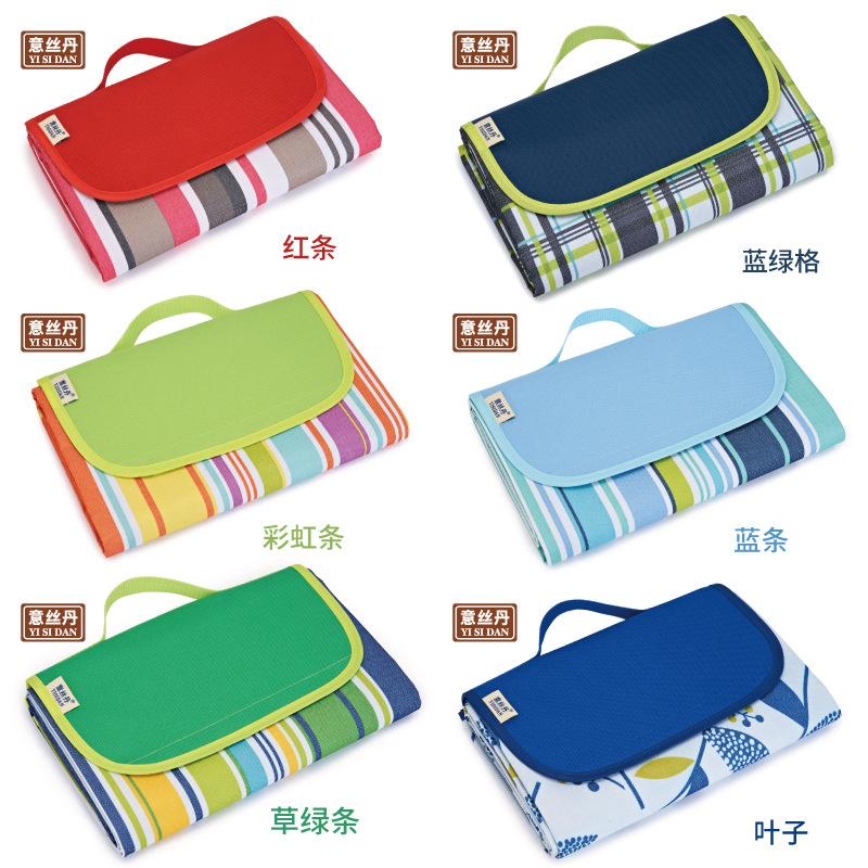 YISIDAN Đồ dùng dã ngoại Silk Dan Shield Chính hãng Picnic Mat Độ ẩm Pad Sản phẩm ngoài trời Lều Mat