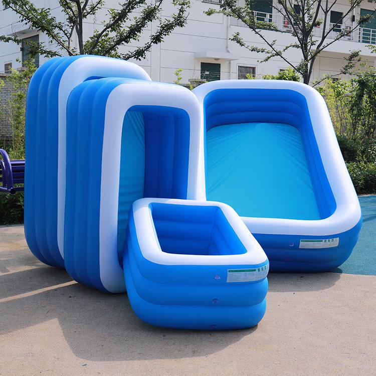 YUBATU bể bơi trẻ sơ sinh Hộ gia đình dày quá khổ trẻ em người lớn bể bơi bơm hơi bể bơi bể bơi ngoà