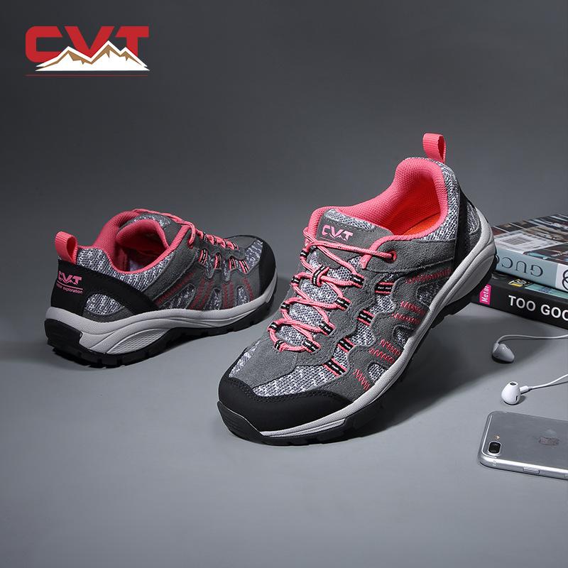 Giày đi bộ đường dài ngoài trời Xiwei chạy giày nam và nữ chống trượt chống trượt